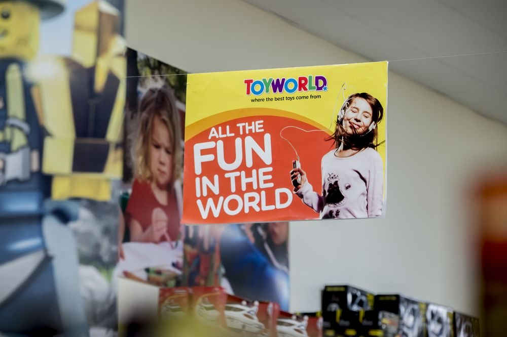 All The Fun In The World - Toyworld