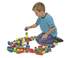 MELISSA & DOUG - 100 WOODEN BLOCK SET