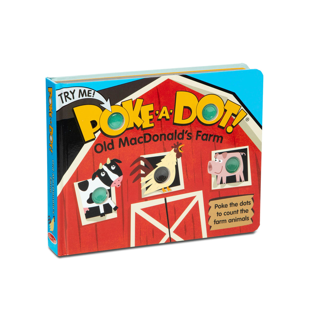 MELISSA & DOUG - POKE-A-DOT WHOS IN THE OCEAN BOOK