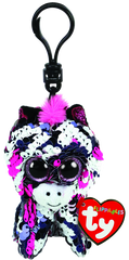 Ty Beanie Boo Clip On Sequin Zoey Pink Zebra - Toyworld