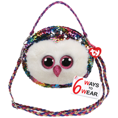 Ty Gear Sequins Owen Owl Purse - Toyworld