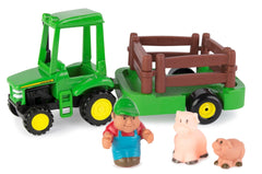 JOHN DEERE 1ST FARMING FUN HAULING SET