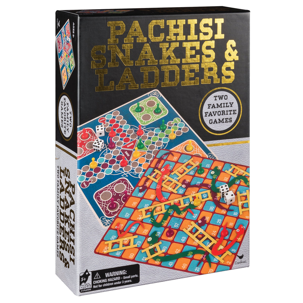 Classic Games Pachesi And Snakes And Ladders - Toyworld