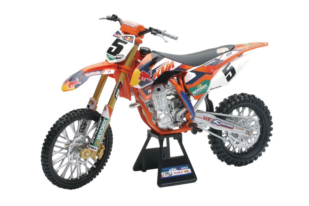 1:6 DIE-CAST RACING DIRT BIKE