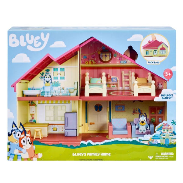 Bluey S3 Family Home Playset - Toyworld