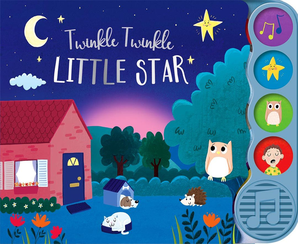 TWINKLE TWINKLE LITTLE STAR 4 BUTTON BOOK