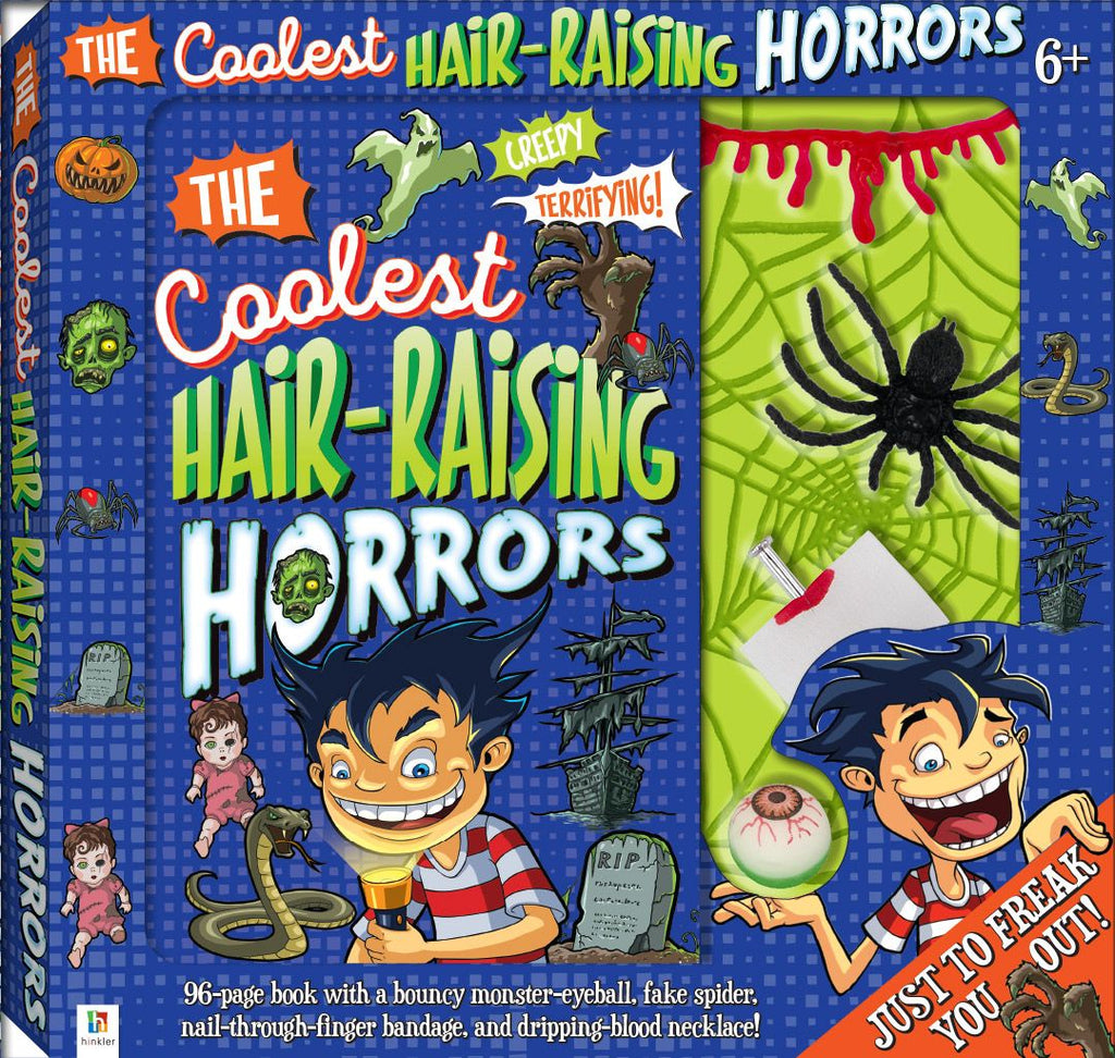 THE COOLEST HAIR-RAISING HORRORS KIT