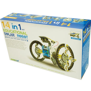 14 In 1 Solar Robot - Toyworld