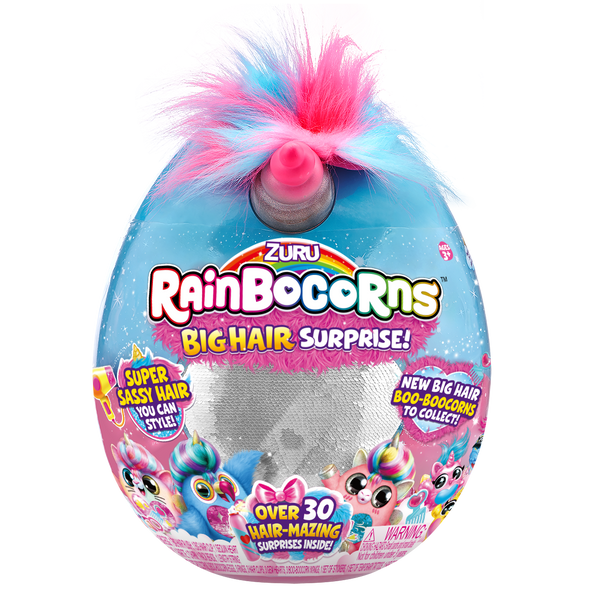 Rainbocorns Big Hair Surprise Assorted - Toyworld
