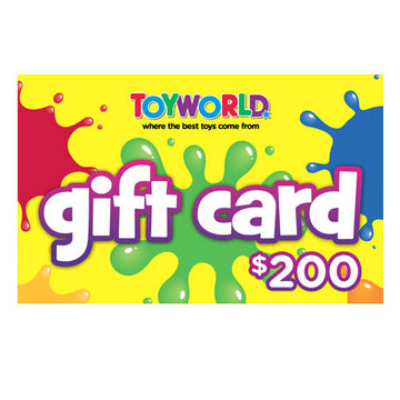 $200.00 Toyworld Gift Card - Toyworld