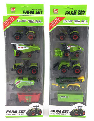 FARM TRACTOR SET 5 PIECE