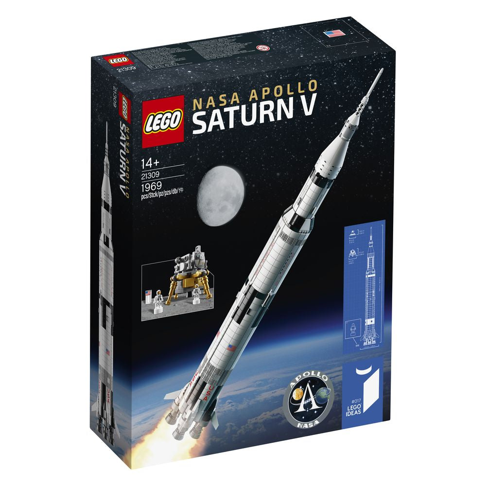 Lego Ideas Nasa Apollo Saturn V 21309 - Toyworld