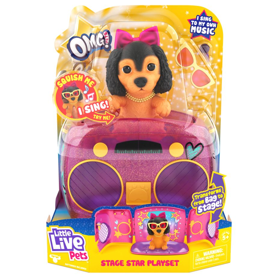 Little Live Pets Stage Star Playset - Toyworld