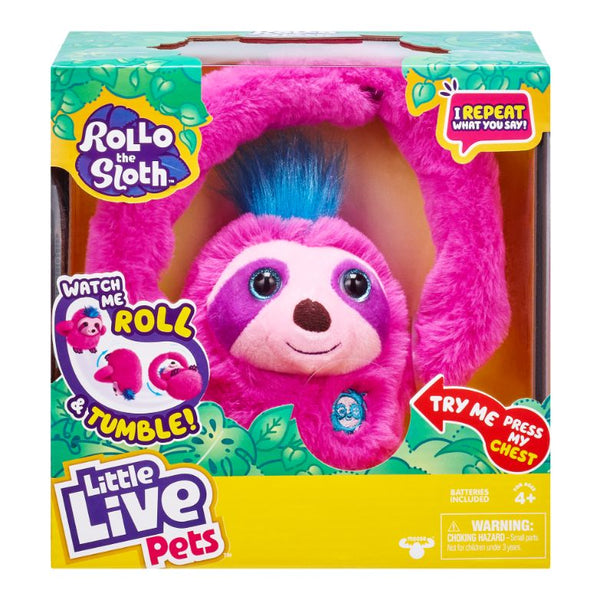Little Live Pets Loopy The Sloth S1 Single Pack - Toyworld