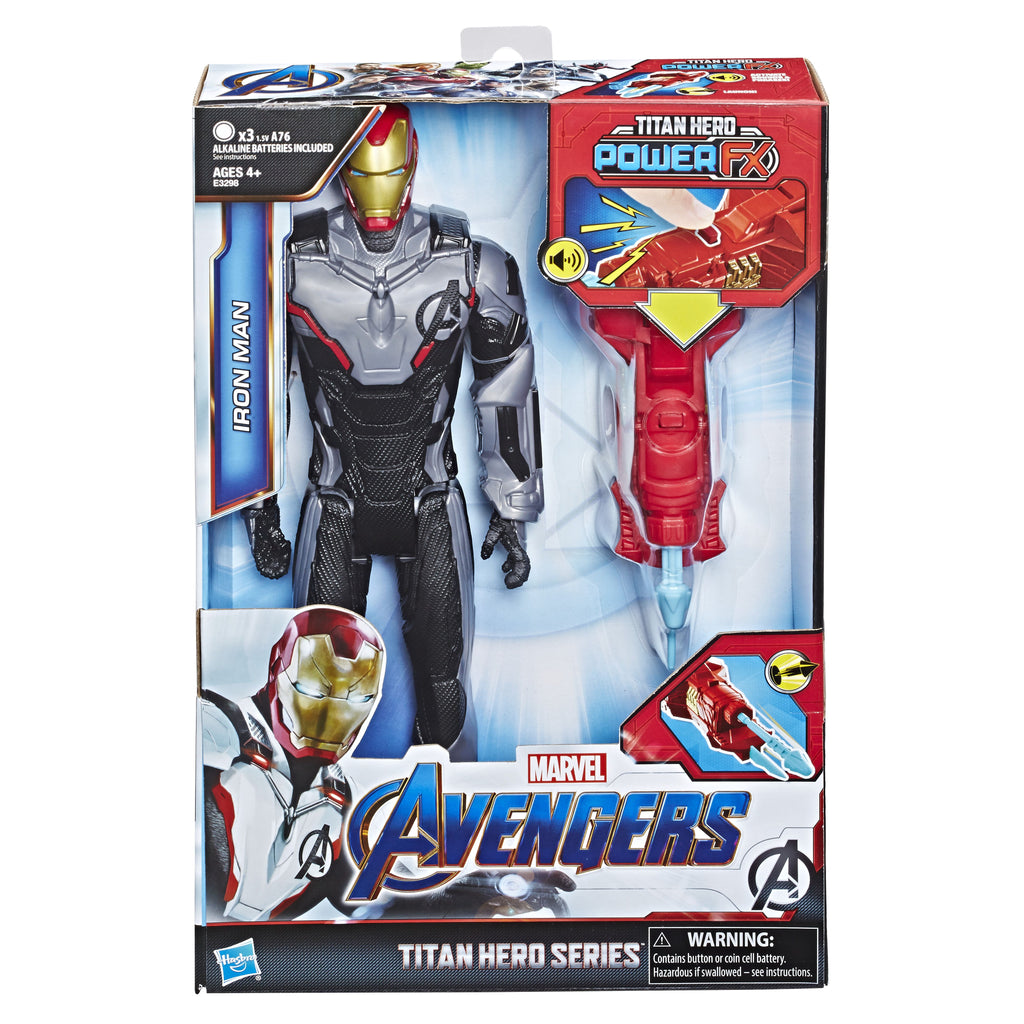 Marvel Avengers Titan Hero Power Fx Iron Man - Toyworld