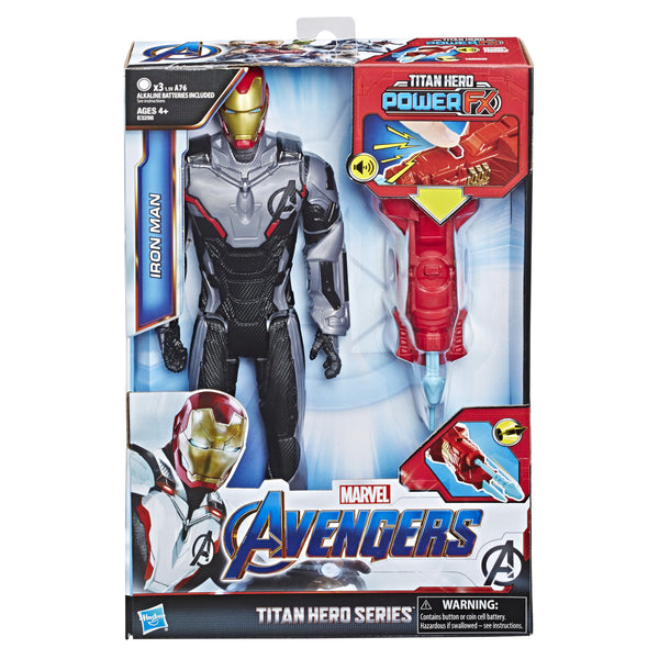 MARVEL AVENGERS TITAN HERO POWER FX IRON MAN