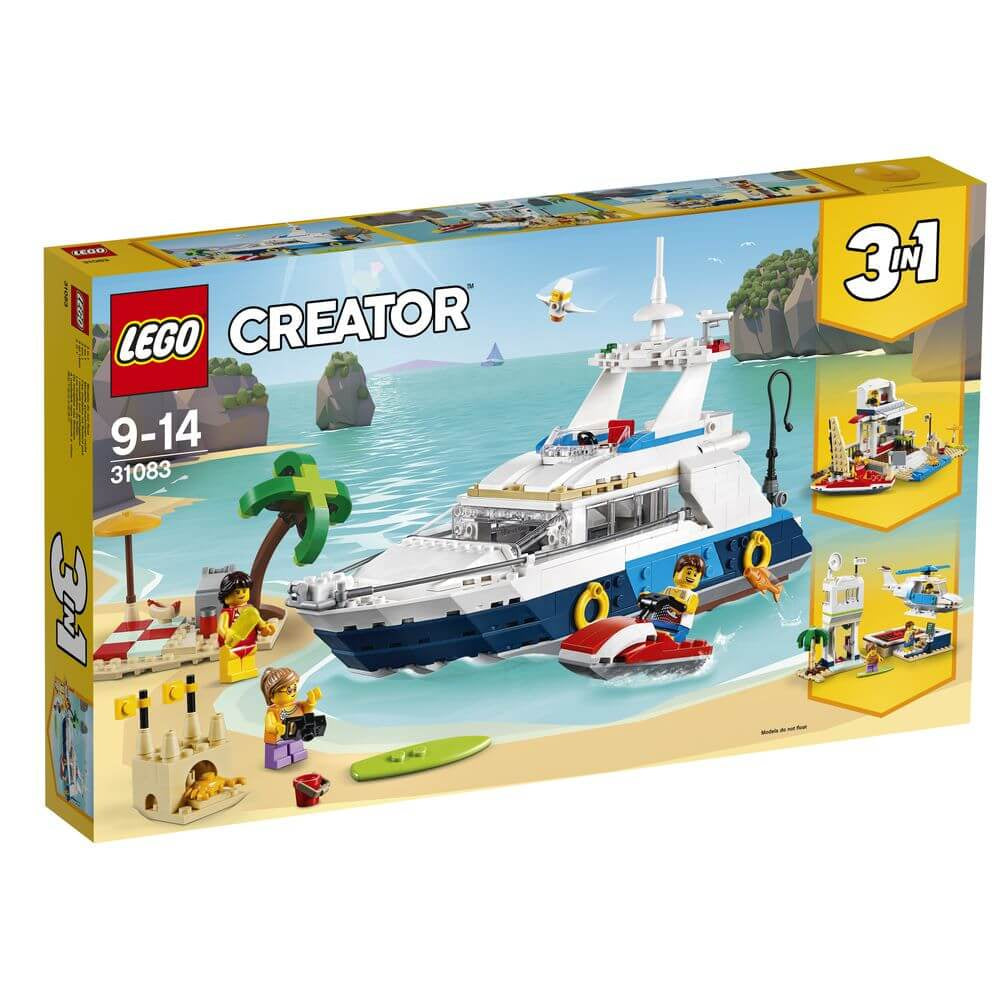 Lego Creator Cruising Adventures 31083 - Toyworld