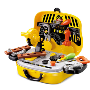 31 Piece Tools Wheely Carry Caseja - Toyworld