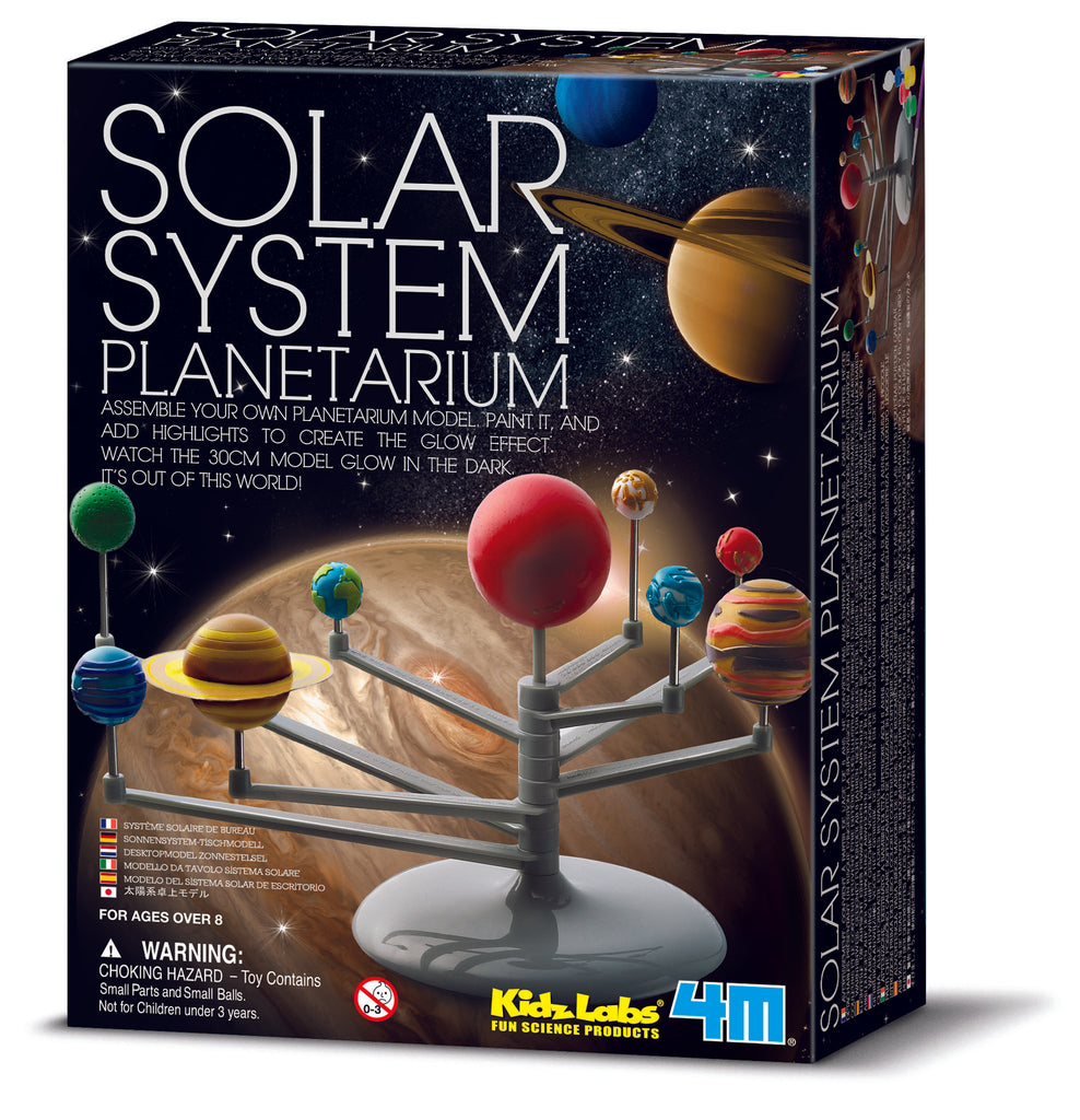 4M Science Build Your Own Solar System Planetarium Model - Toyworld