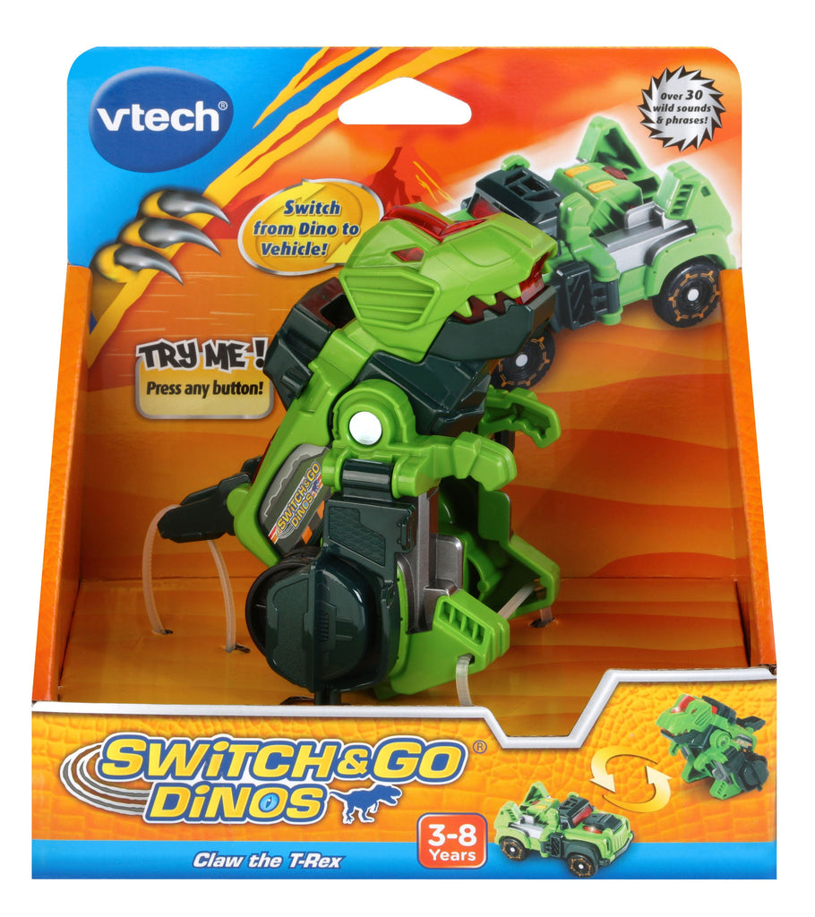 VTECH SWITCH AND GO DINOS CLAW THE TREX