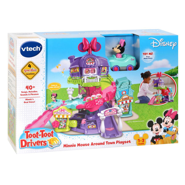VTECH DISNEY MINNIE AROUND TOWN SET