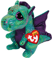 Beanie Boo Cinder The Dragon - Toyworld