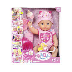 Baby Born Soft Touch Girl - Toyworld