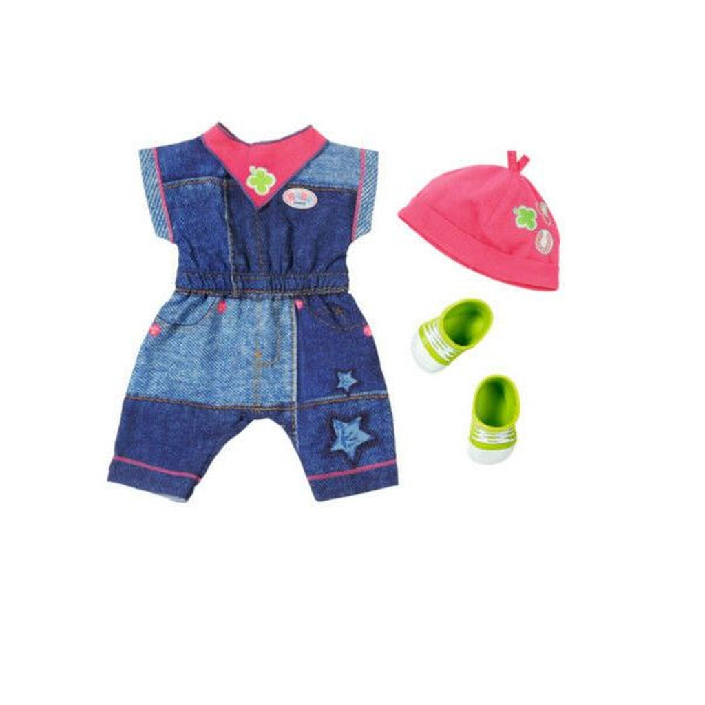 Baby Born Deluxe Jeans Collection Assorted Styles - Toyworld