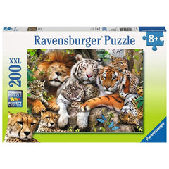 RAVENSBURGER BIG CAT NAP 200 PIECE