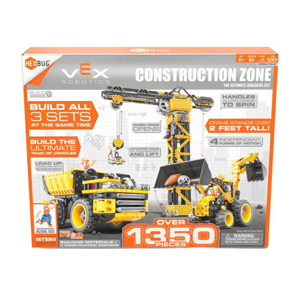 VEX ROBOTICS - CONSTRUCTION ZONE