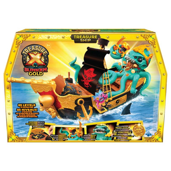 Treasure X Treasure Ship Playset - Toyworld