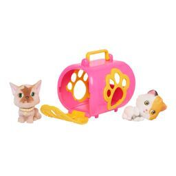 Kitty In My Pocket Kitty Carrier Yellow - Toyworld