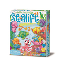 4M Craft Mould Paint Sealife - Toyworld