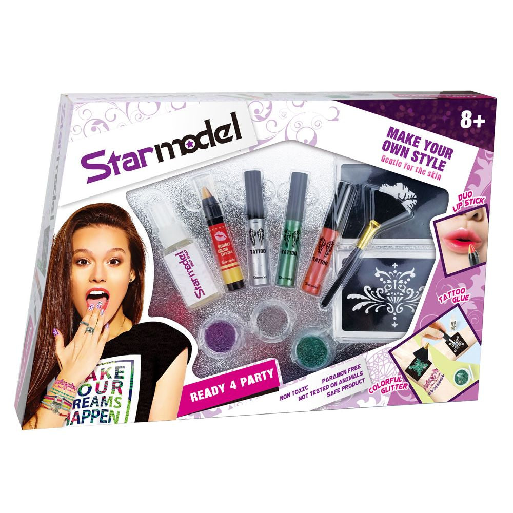 Starmodel Ready To Party Make Up Set - Toyworld