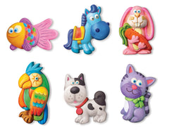 4M Craft Mould N Paint Cute Pets Img 1 - Toyworld