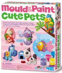 4M Craft Mould N Paint Cute Pets - Toyworld