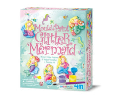 MOULD AND PAINT GLITTER CRAFTS MERMAID