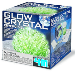 4M Glow Crystal Growing Kit - Toyworld
