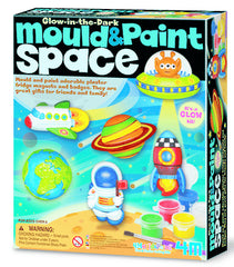 4M Mould Paint Glow In The Dark Space - Toyworld