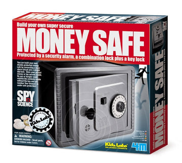 4M Science Kidz Labs Build Your Own Money Safe - Toyworld