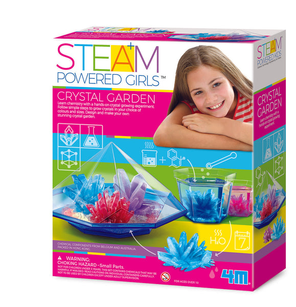 STEAM POWDERED GIRLS CRYSTAL GARDEN