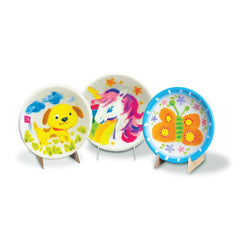 4M Little Craft Mini Plate Painting Kit Img 2 - Toyworld