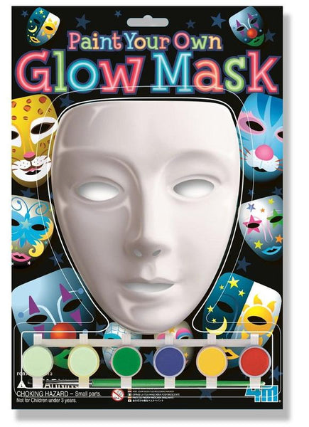 4M PAINT YOUR OWN GLOW MASK