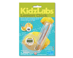 4M Mini Science Lemon Clock - Toyworld