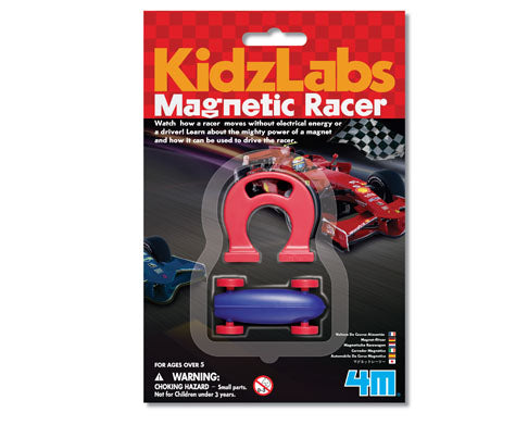 4M Science Kidz Labs Magnetic Racer - Toyworld