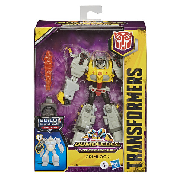 Transformers Cyberverse Adventures Deluxe Grimlock - Toyworld