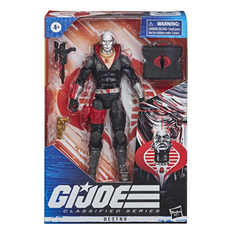 GI JOE CLASSIFIED SERIES DESTRO
