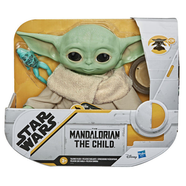 STAR WARS - THE MANDALORIAN - THE CHILD TALKING PLUSH TOY
