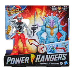 Power Rangers Dino Fury Red Ranger Vs Doomsnake - Toyworld