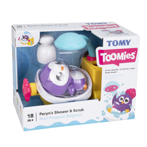 TOMY TOOMIES PERYNS SHOWER AND SCRUB